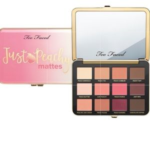 Too Peachy Just Peachy Mattes Palette NEW IN BOX